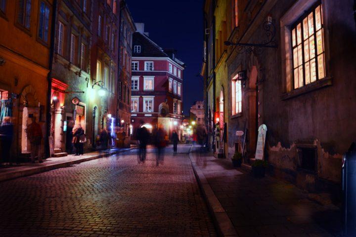 sekrety krakowa - krakow noca
